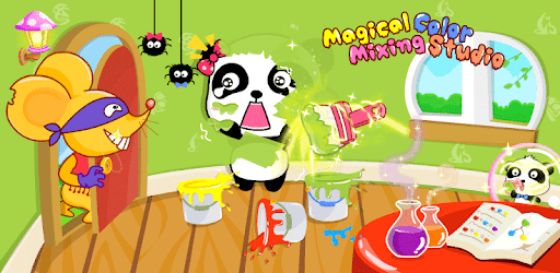 Baby Panda S Color Mixing Studio Apps On Google Play