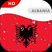 Albania Flag 3D live wallpaper