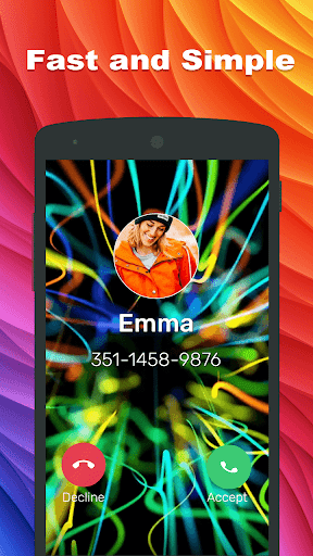 Colorful Call - screenshot
