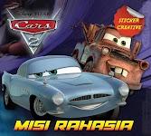 """Sticker Creative Cars: MISI RAHASIA - Disney"""