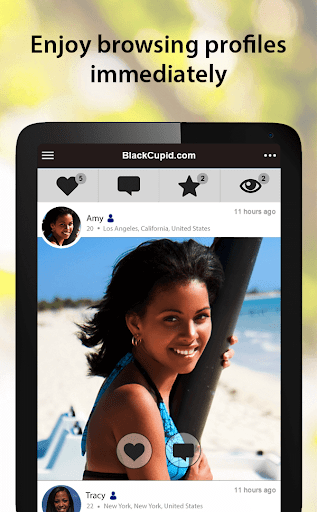 BlackCupid - Black Dating App 3.1.5.2411 screenshots 10