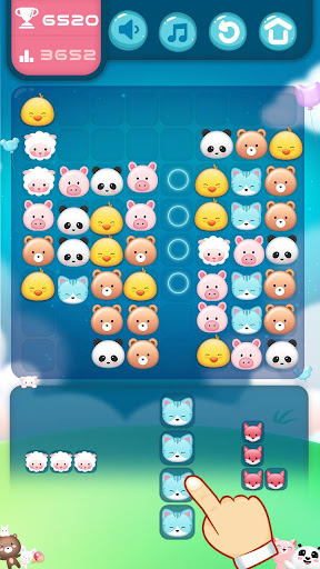 Animal Block Puzzle screenshot 1