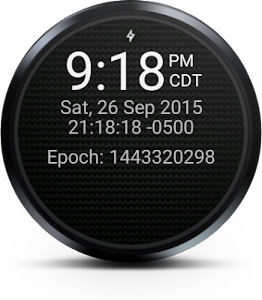 DevOps Time (Wear Watch Face) screenshot 1