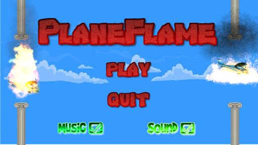 Plane Flame
