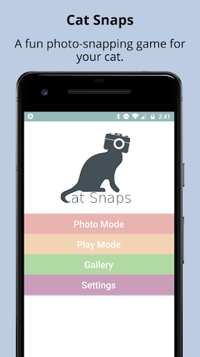 Cat Snaps - Selfies for Cats 1.0.3 screenshots 1