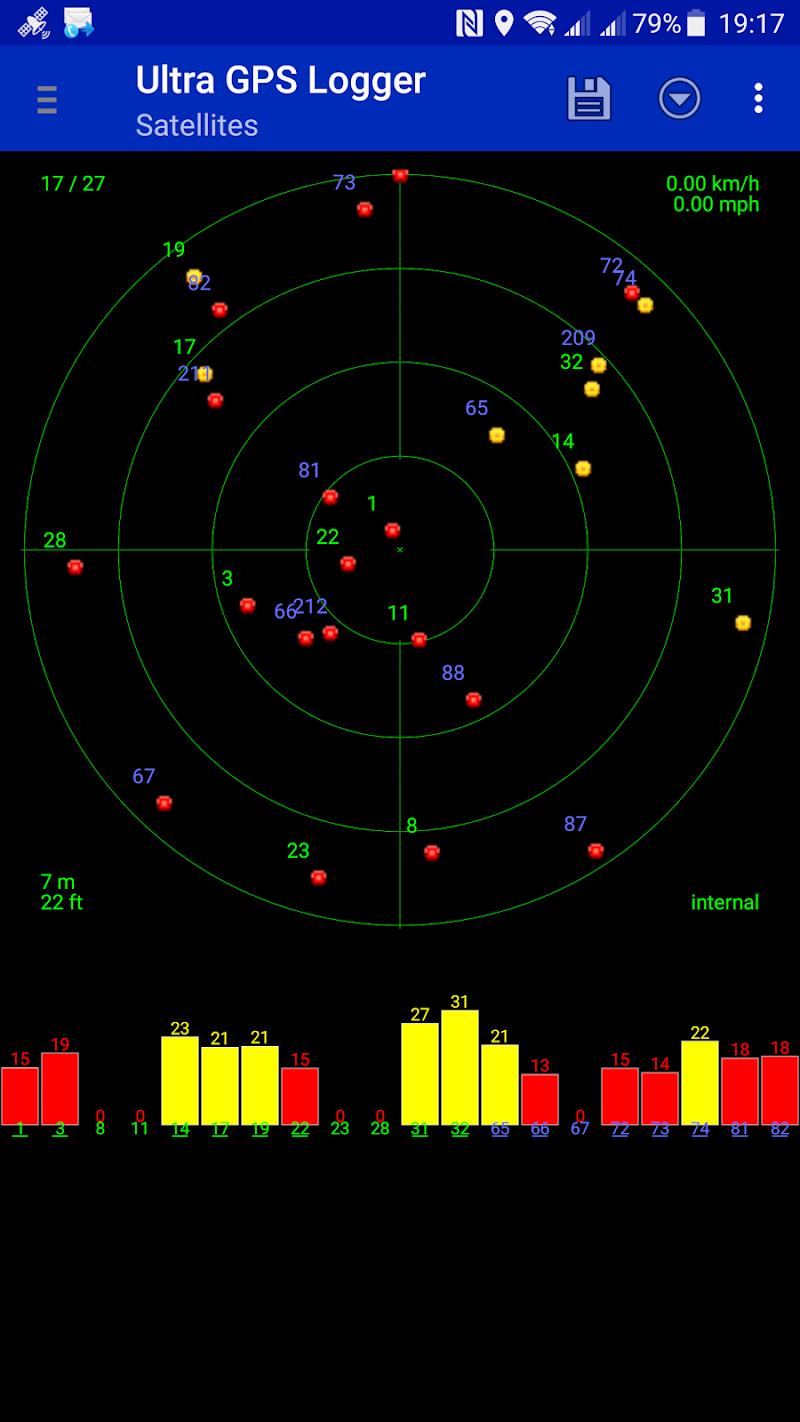 Ultra GPS Logger Screenshot 4