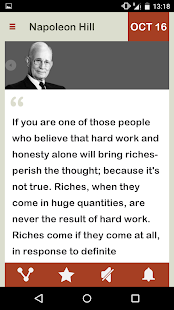 Napoleon Hill Daily - náhled