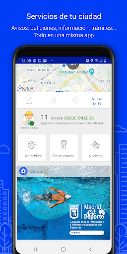 Avisos Madrid screenshot 2