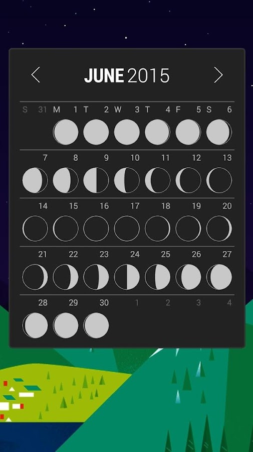 Calendar Widget: Month- screenshot