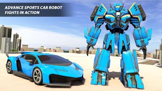 Real Robot Car Transform War : Mega Robot Games 1
