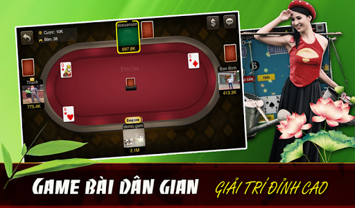 Game bai: Choi bai doi thuong