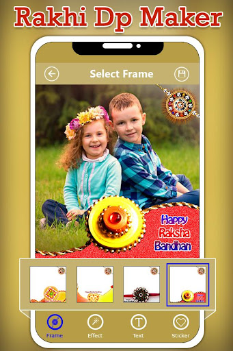 Rakhi Dp Maker : Rakshabandhan Profile Maker 1.0 screenshots 2