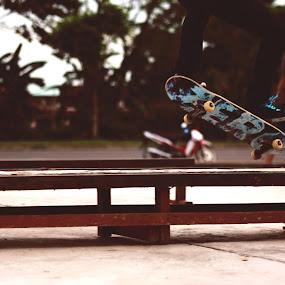 Jump  by Maji Shuki - Sports & Fitness Skateboarding