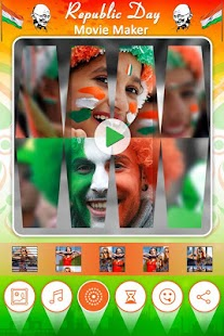 Republic Day Movie Maker : Photo to Video Maker - náhled