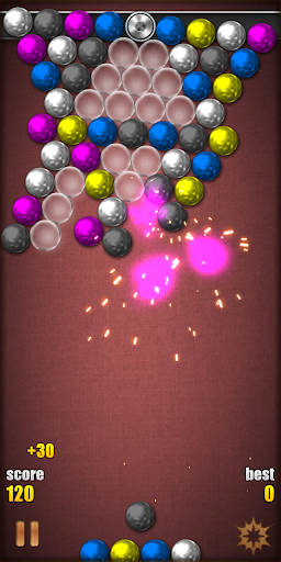 Magnetic Balls HD Free: Match 3 Physics Puzzle 2.2.0.9 screenshots 7