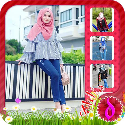 Hijab Jeans Fashion New icon