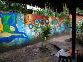 Photo: V oblasti, kterou jsem si vybrali pro přespání, žije spoustu umělců. Tohle je jeden z jejich projevů.