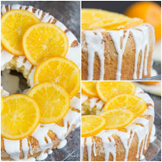 Old Fashioned Buttermilk Orange Juice Pound Cake.