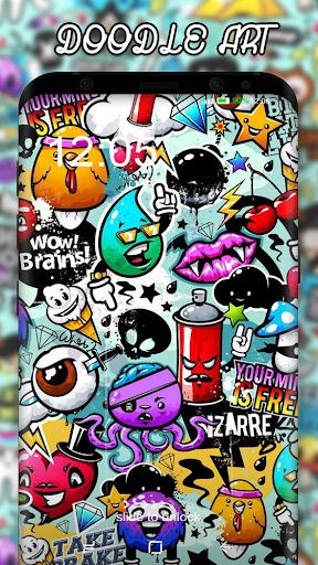 Doodle Art Wallpaper ss1