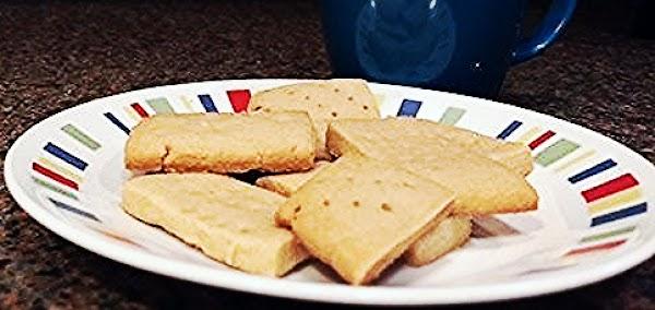 Brown Sugar Shortbread Cookies Recipe