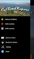 Screenshot of Cal Road Report