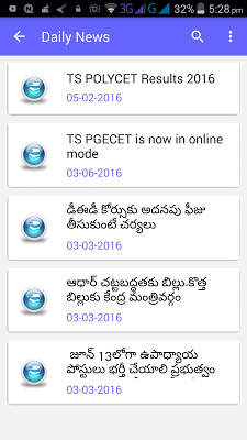 Telugu Current Affair Magazine - screenshot