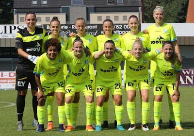 Gent Ladies zitten in het nieuw