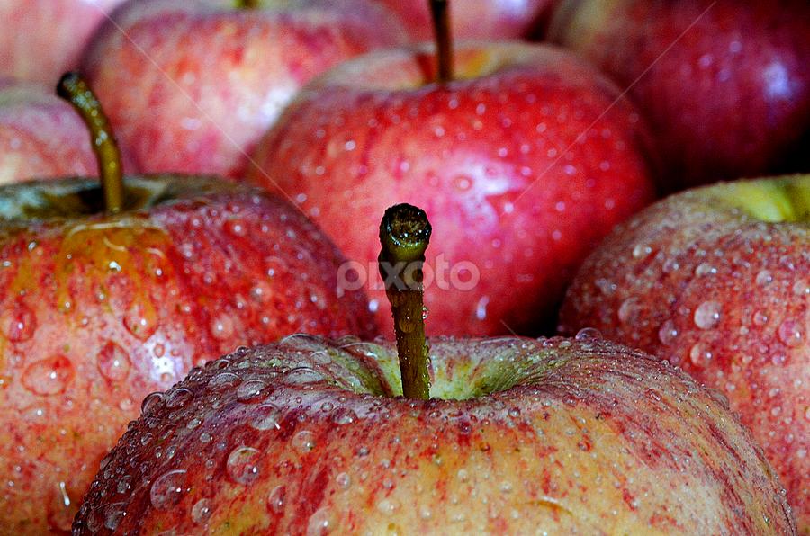 apple tip.. by Pete G. Flores - Food & Drink Fruits & Vegetables ( pwcfruit,  )
