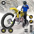 Snow Mountain Bike Racing 2019 - Motocross Race APK