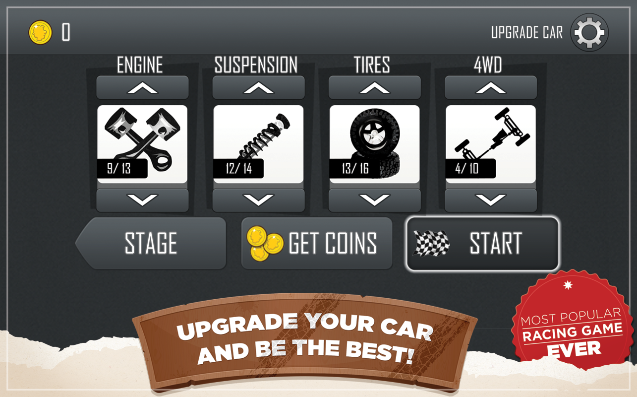 Hill Climb Racing screenshot #11