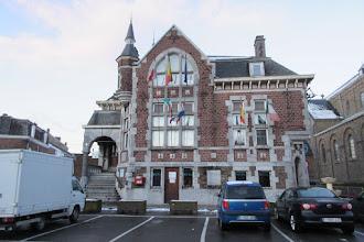 Photo: stadhuis van Battice