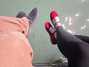 Photo: Lóg a lába...