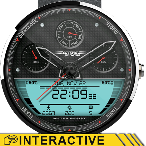 Octane Watch Face | Android Wear Center