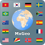 World atlas & map MxGeo Pro 4.3.1
