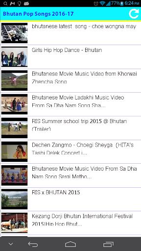 Bhutan Pop Songs 2016