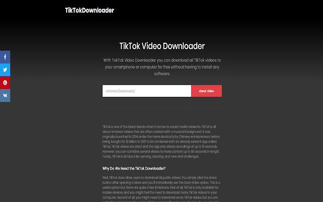 TikTok Videos Downloader