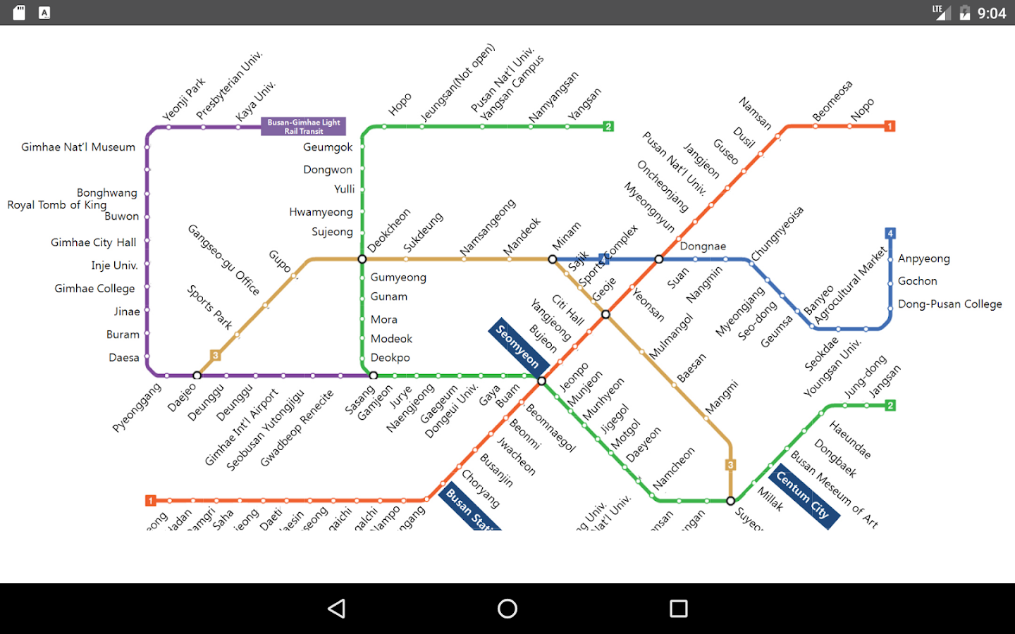 Busan Metro Map Android Apps On Google Play - Busan map