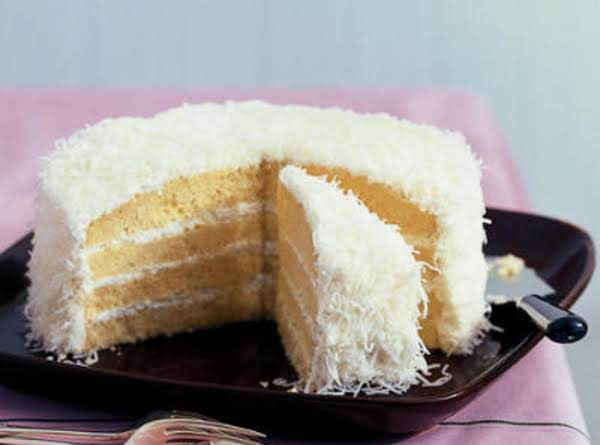 Coconut Does Not Have To Be Put On Sides Of Cake.