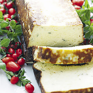 Baked Ricotta Cheese.
