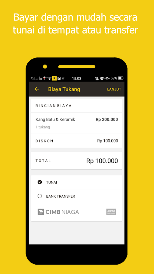 Tukang.com- screenshot