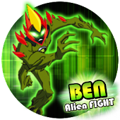 👽 Ben Alien Fight: StampFire Attack