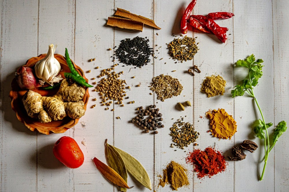 Anti-inflammatory Diet herbs and spices
