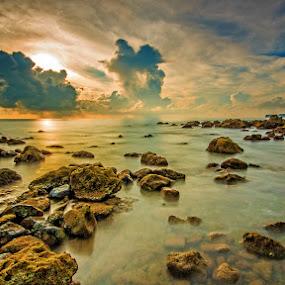 Andaman Sea 1 by Sourav Tripathi - Landscapes Beaches