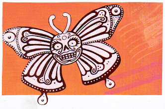 Photo: Wenchkin's Mail Art 366 - Day 144, Card 144a
