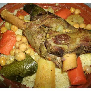 Moroccan Vegetable Stew With Couscous.