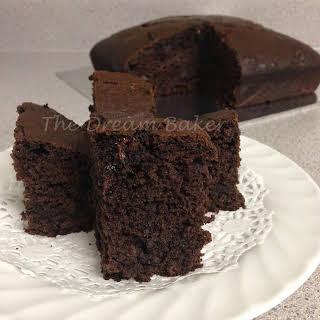 Chocolate Banana Cake.
