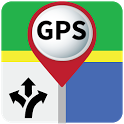 Gps Route Finder, Live street view, find places icon