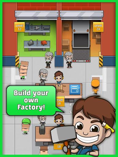 Idle Factory Tycoon [Mod Money]