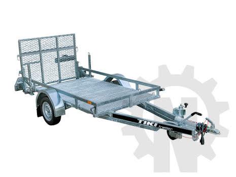 TIKI TP250 RB1500 | Totalvikt 1500kg | Maskinsläp