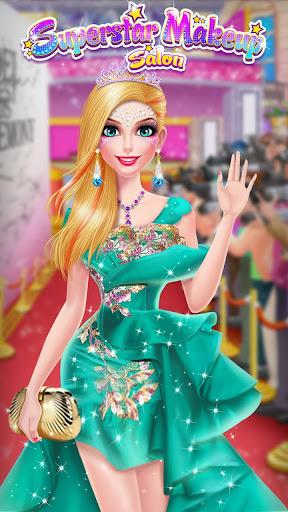 u2b50ud83dudc67Superstar Makeup Salon - Girl Dress Up 2.5.5009 screenshots 8